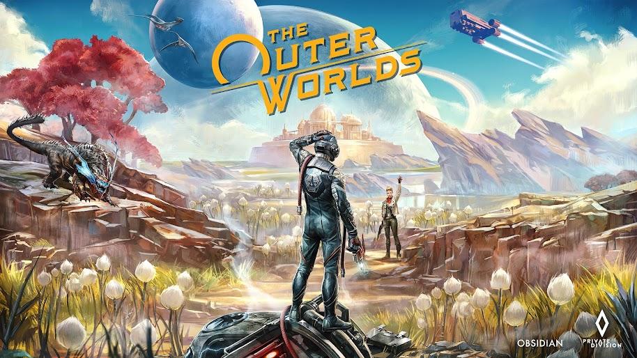 Kết quả hình ảnh cho The Outer Worlds wallpaper