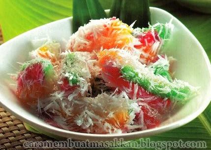 Resep Cara Membuat Cenil Yogyakarta Resep Masakan Indonesia