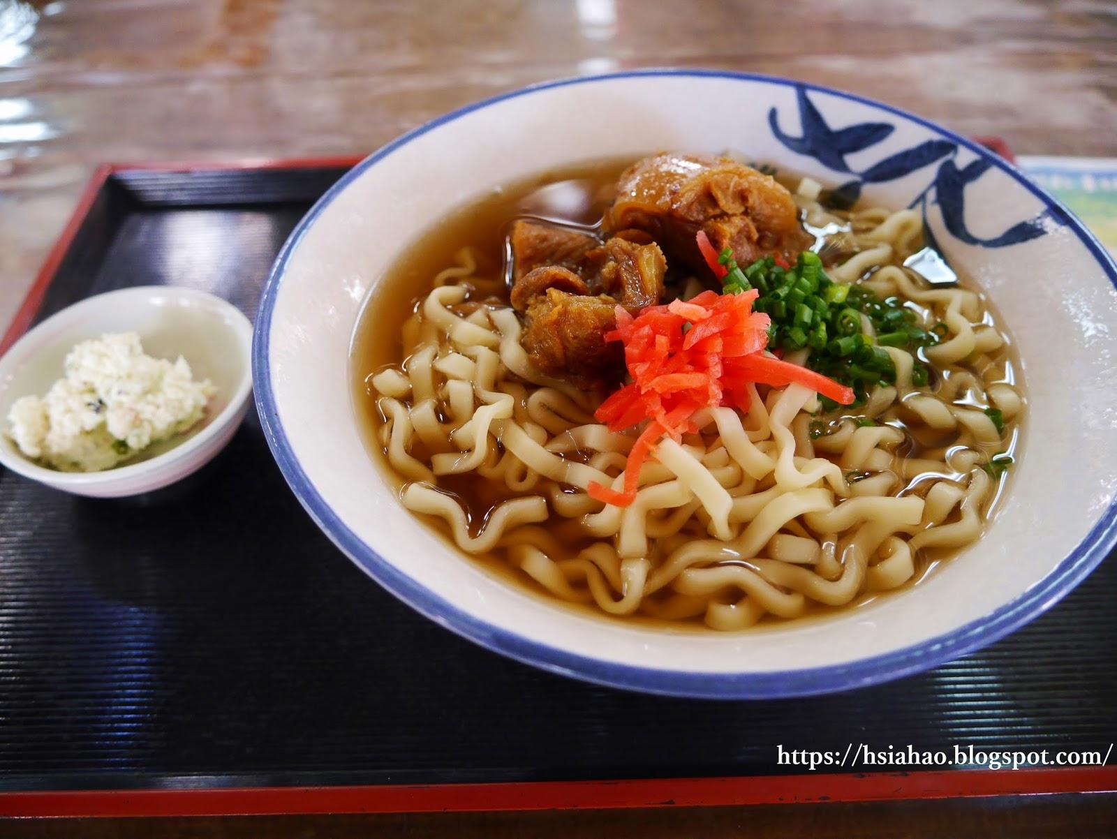 沖繩-沖繩麵-Okinawa-soba