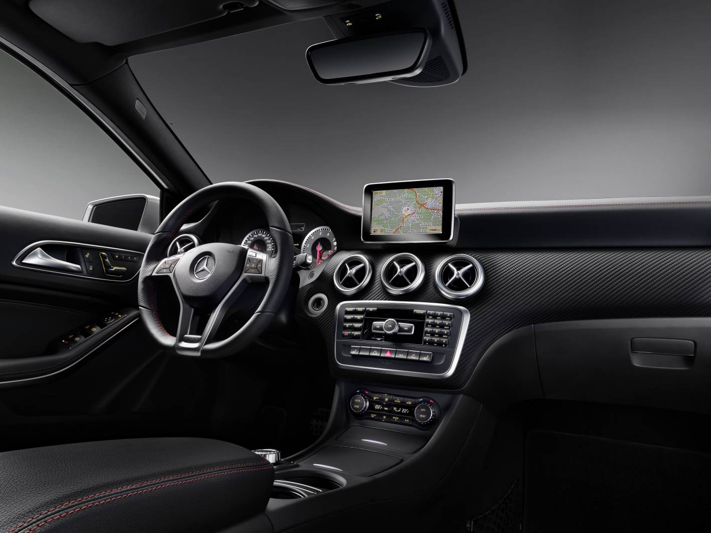2013 mercedes benz a class amg sport auto cars concept. Black Bedroom Furniture Sets. Home Design Ideas