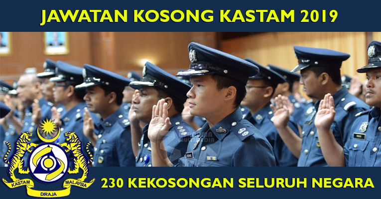 Jawatan Kosong di Jabatan Kastam DiRaja Malaysia