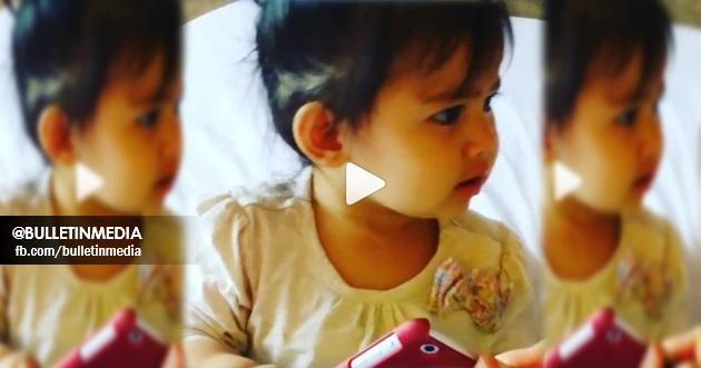 Video:Kesian Mummy Che Ta Kena Mara Bila Berebut Ipad Dengan Aisyah,, Siyess Cute..