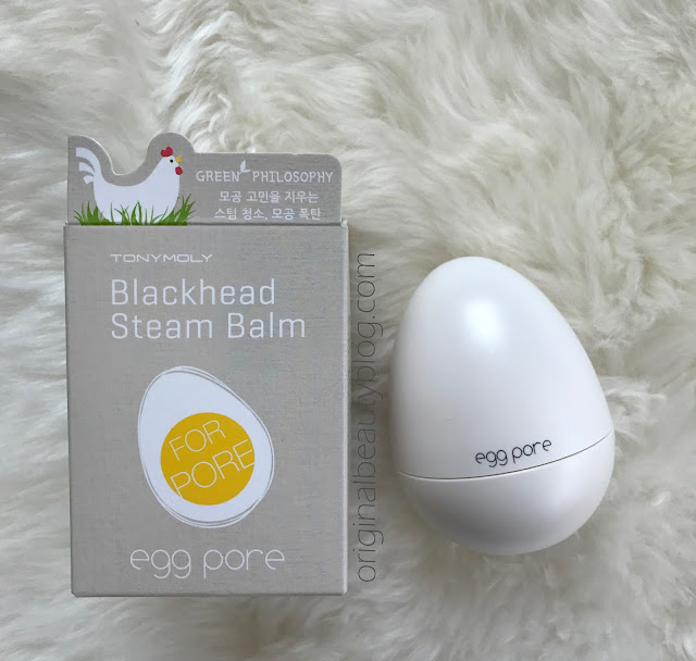 TONYMOLY Egg Pore Blackhead Steam Balm 30g