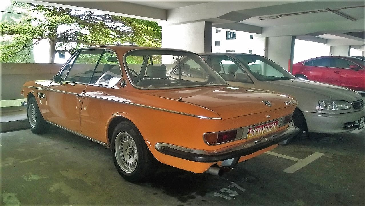 Singapore Vintage and Classic Cars: More than an old car #44: BMW 3.0 CS