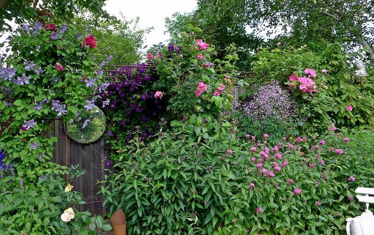 Ferienwohnung im Gartenparadies