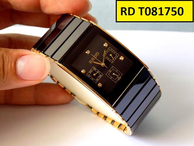 Đồng hồ nam mặt vuông Rado T081750
