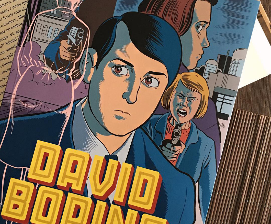 David Boring: HQ de Daniel Clowes traz nonsense, drama e anti-herói com fixação por bundas | Resenha