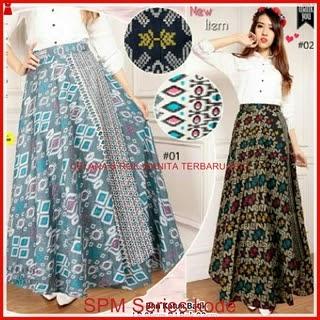 28SPM Celana Rok Wanita Model Batik Elegance Duo Bj6128