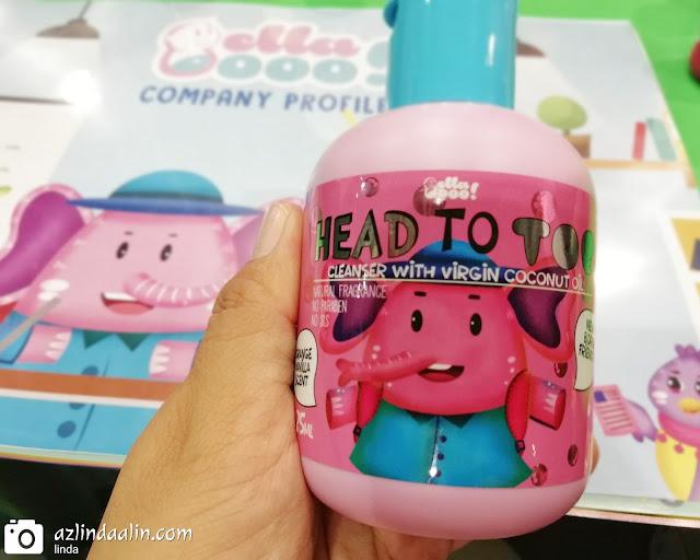 3 Produk BellaBooo Yang Selamat Untuk Kulit Baby Daim : Mandian, Minyak Bayi dan Bedak Tanpa Talkum