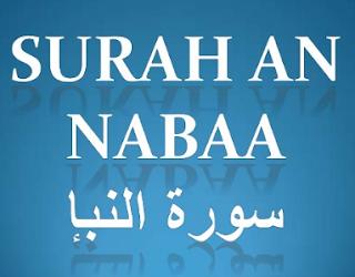 Bacaan Surat An Naba Arab Latin dan Terjemah