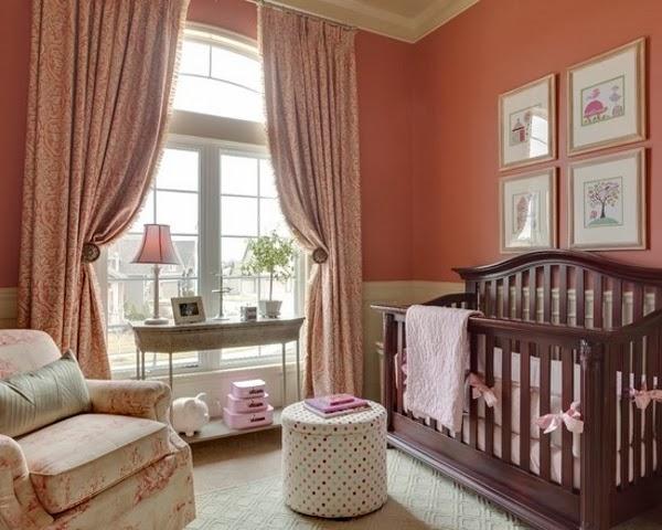 cuarto elegante para bebé