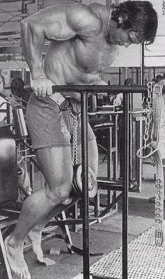 تمرين عضلات التراى ارنولد شوارزنيجر