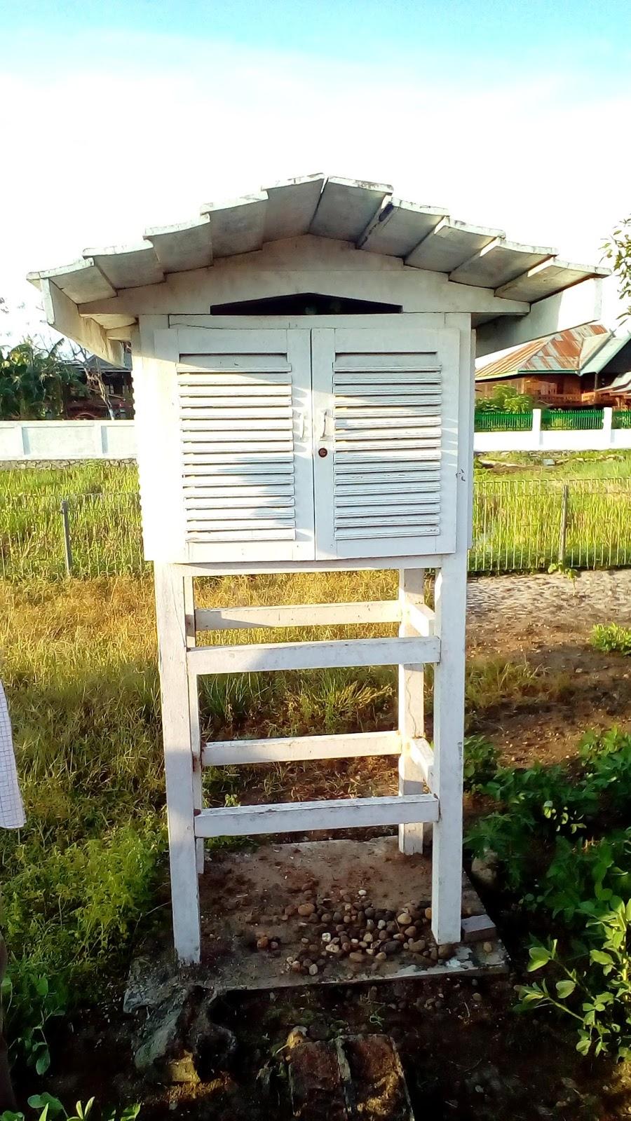 4 Anemometer 5 Penakar Hujan Otomatis 6 Panci Evaporasi