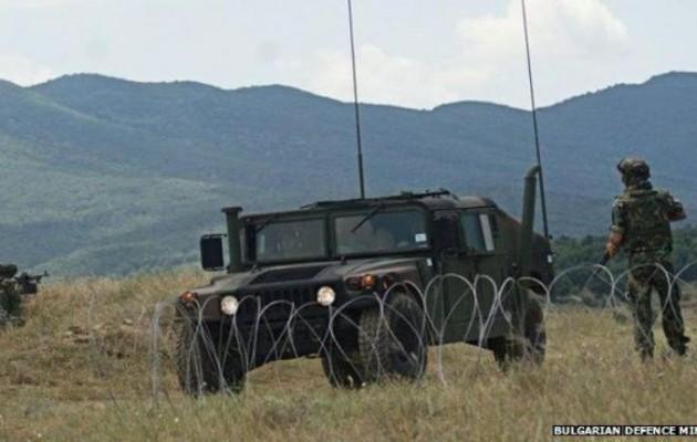 Ο Βουλγαρικός στρατός αναπτύσσεται στα σύνορα με την Τουρκία