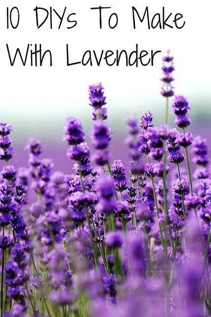 Ten easy DIYs to make with lavender essential oil