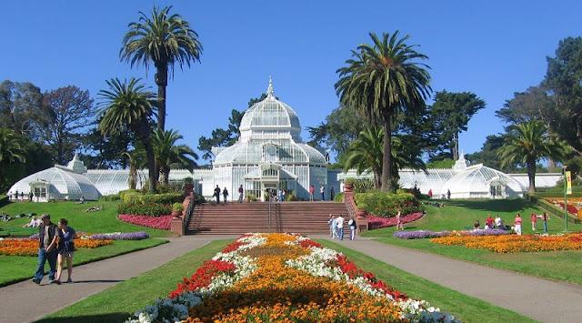Golden Gate Park com as crianças em San Francisco