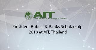 President Robert B. Banks Scholarship 2018