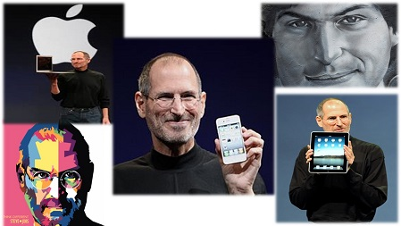 "Header image of the article ""Steve Jobs Quotes On Life"": a selection of the best 50 Steve Jobs quotes on life. Includes pictures and a video."