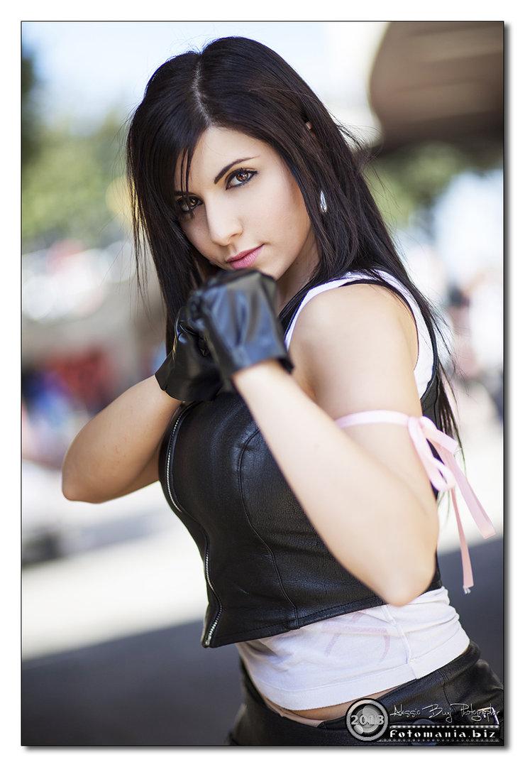 Tifa cosplay