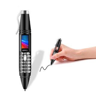 Spesifikasi Hape Unik SERVO K07 Mini Pen Cellphone
