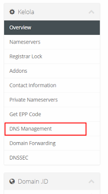 Cara Setting DNS Management