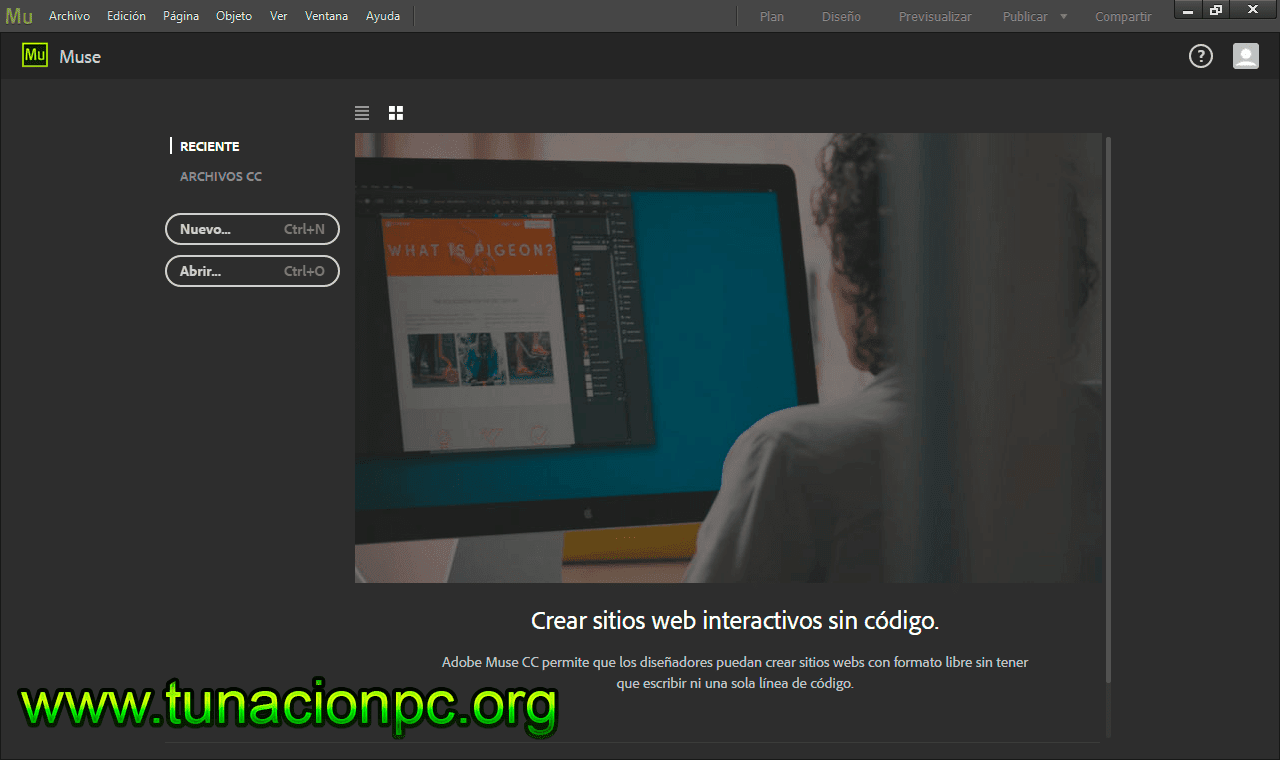 Adobe Muse CC 2017 Full Español