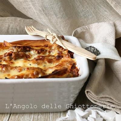 bluff alla bolognese. ovvero le mie lasagne vegetariane con ragù di lenticchie di castelluccio