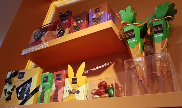 8c861c77e2 Para os consumidores que gostam de presentear com chocolate trouxe opções  com preços mais bacanudos para presentear a familia toda.A seleção de  miniovinhos ...