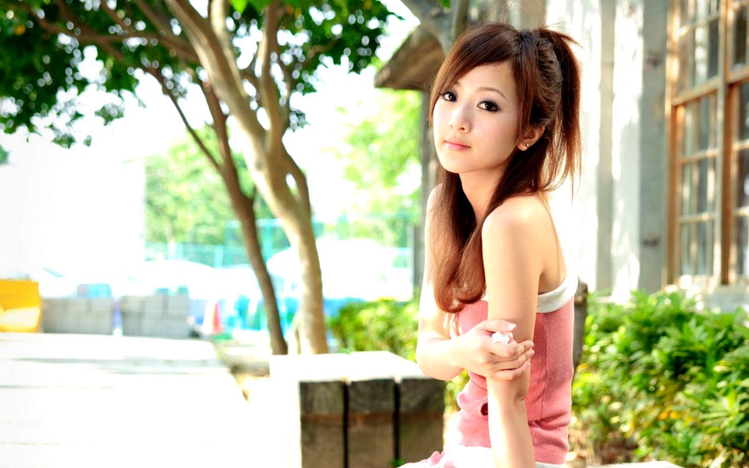 Cute Girl Asian Hd Wallpaper   Elegant Wallpapers