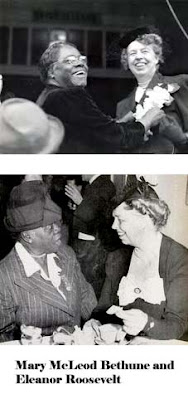 Mary McLeod Bethune Eleanor Roosevelt