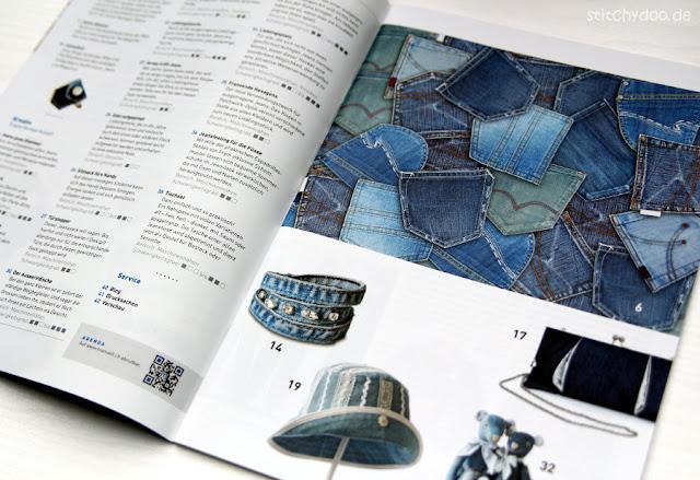 """stitchydoo: Blick ins Schweizer Magazin """"manuell"""" zum Thema Jeans"""