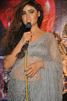 Actress Sony Charistha Latest Pos in Silver Saree at Black Money Movie Audio Launch  0039.jpg