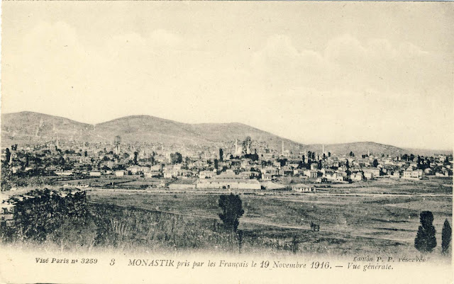 Monastir - conquered by the French in the November 19, 1916.