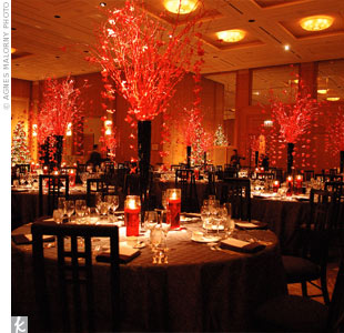 red wedding decorations reception muyameno decoraci 243 n de bodas salones decorados en rojo 1 7032