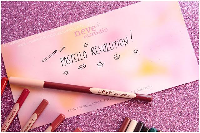 BioPastello Neve Cosmetics  pastello revolutionnovità
