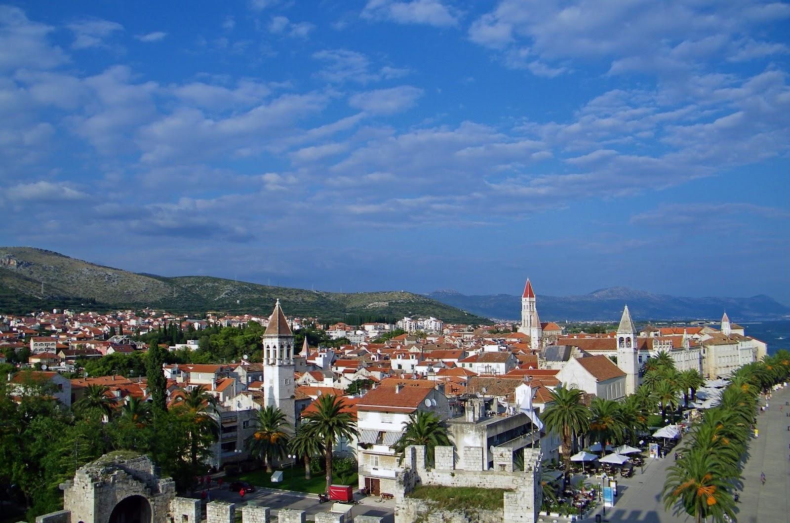 Trogir - Panorama miasta