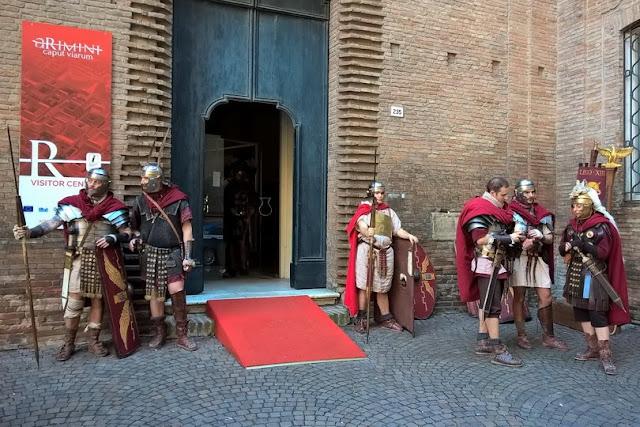 rievocazioni impero romano
