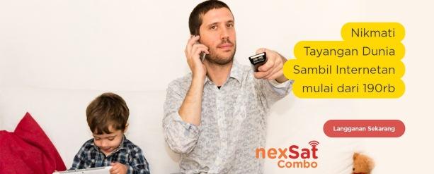 Nexmedia - Paket Internet NexSat Combo Terbaru
