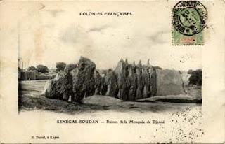 Ruinas Gran Mezquita Djenné