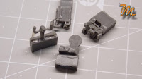 Ilyshin Il-28 Beagle,Pavla 1/72 resin detail set