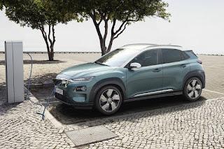 Hyundai Kona Electric (2019) Front Side