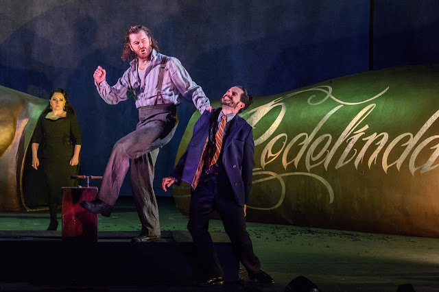 Handel: Rodelinda - Rebecca Evans, Tim Mead, Juan Sancho - English National Opera 2017 (Photo Jane Hobson)