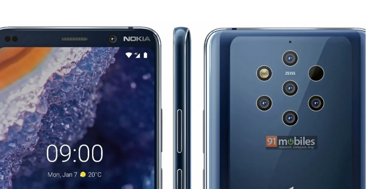 "Nokia 9 PureView ""Official"" Press Renders Leaked"