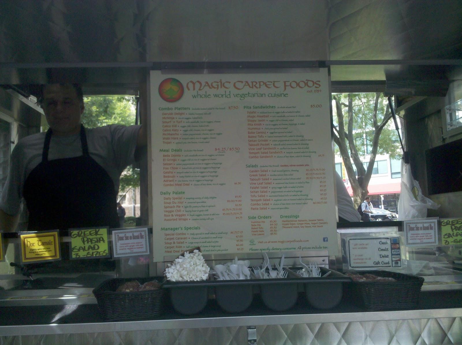 Magic Carpet Food Truck University City