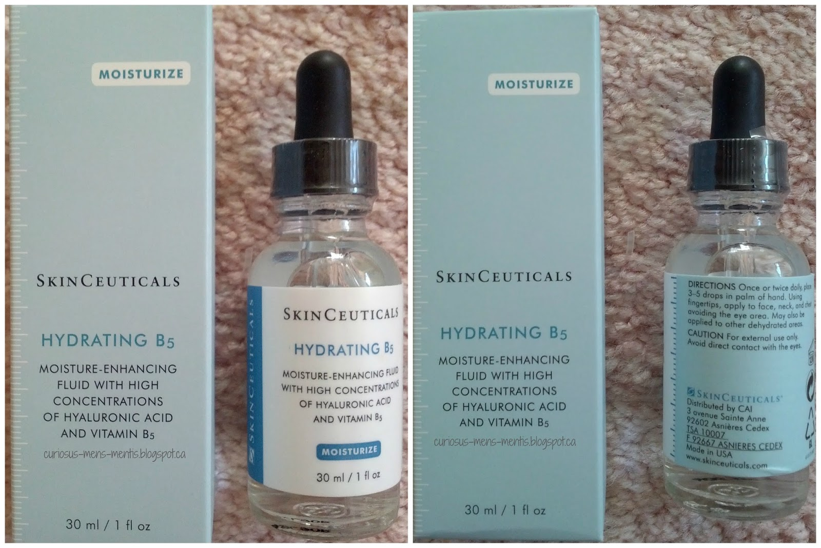 curiosus minds review skinceuticals hydrating b5. Black Bedroom Furniture Sets. Home Design Ideas