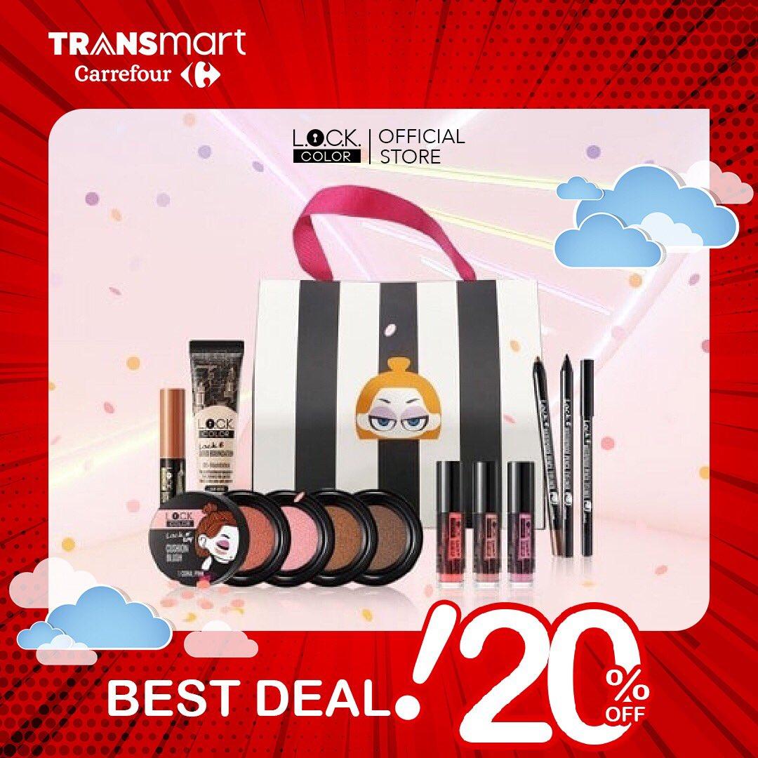 #Transmart - Promo Diskon 20% Produk Korea L.O.C.K Color Brand (s.d 31 Jan 2019)