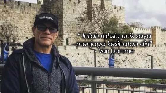 Van Damme Dedah Ikuti Cara Makan Rasulullah SAW Untuk Kekal Sihat