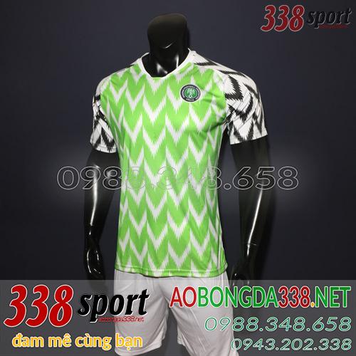 Áo Bóng Đá Đội Tuyển Nigeria 2018 2019 Sân Nhà
