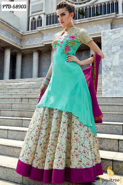 Girls latest fashion trends gallery latest designer floor for Floor touch gown