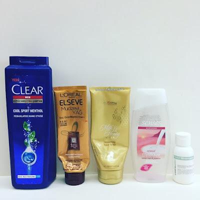 bitenler yazısı - Clear Men - Mucizevi Yağ - Relief Shampoo